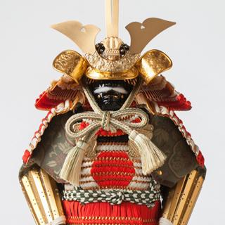 ボトルアーマーPUREMIUM 白糸緋日の丸威鎧